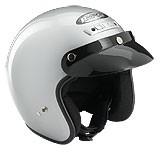 Rocc Classic jet helm zilver