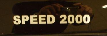 EML Sticker SPEED 2000
