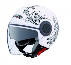 Caberg Riviera V2 jet helm essence wit