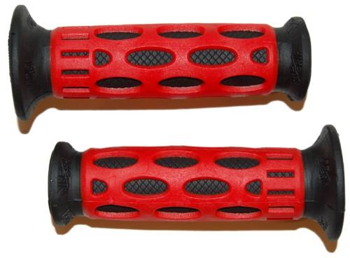 Handvatset Pro Grip 768 Zwart Rood
