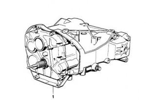 Versnellingsbak BMW K1100LT