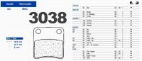 Carbone Lorraine remblok 3038 MSC