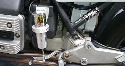 Easy Shifter is een elektromagnetische en pneumatische schakelsysteem.